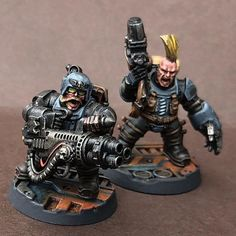 Imperial Agent, Mike Jackson, The Grim, Warhammer 40k, Squats, Sculpting, Gaming, Miniatures, Inspiration