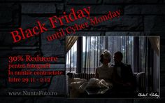 30% on Black Friday & Cyber Monday! Wedding Photography Special Offer of Aurel Virlan