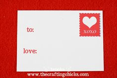 Free Valentine's printable love notes from @Brooke Kemp of @The Crafting Chicks