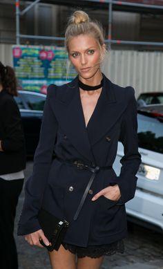 WHO: Anja Rubik   WHERE: Vogue Paris Foundation Gala, Paris    WHEN:July 6, 2015