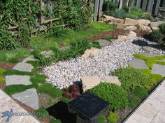 Learn How to Build a Dry Creek Bed | Birdz of a Feather Home