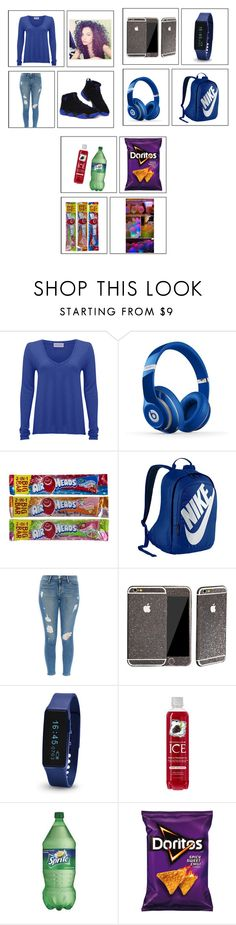 """#362"" by aneysajslexander ❤ liked on Polyvore featuring American Vintage, NIKE and Frame Denim"