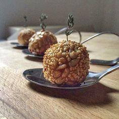 La luna sul cucchiaio: Gnocchi ripieni finger food con mortadella di Bolo...