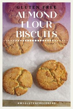 If you're looking for a grain free, gluten free biscuit, you have come to the right place! These almond flour biscuits are so light and so tender, they just might be your new favorite biscuit! They are the perfect biscuit for ANY meal! #glutenfreebread #grainfree #lowcarbrecipes #biscuits #almondflour Gluten Free Quick Bread, Gluten Free Biscuits, Gluten Free Treats, Gluten Free Recipes, Bread Recipes, Low Carb Recipes, Almond Flour Biscuits, Coconut Flour, Gluten Free Thanksgiving
