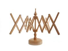 Vintage wooden yarn winder or umbrella yarn swift  by madlyvintage