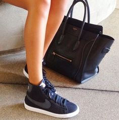 Black Blazer Nikes For Women
