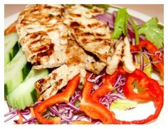 Grilled Honey Chicken Breast Salad by Bangkok West Thai - Santa Monica , CA   Click to order