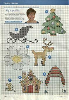 ru / Фото - The world of cross stitching 209 - tymannost Cross Stitch Christmas Stockings, Xmas Cross Stitch, Christmas Cross, Cross Stitch Charts, Cross Stitch Designs, Cross Stitching, Cross Stitch Embroidery, Cross Stitch Patterns, Cross Stitch Pictures