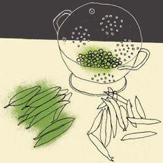 Shelling Peas by Rosie Scott