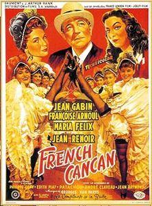 """French Cancan"" de Jean Renoir avc Françoise Arnoul et Jean Gabin"