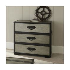 Brady Furniture Industries Travels 3 Drawer Chest