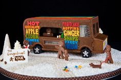 13 Over-the-Top Gingerbread Houses Slideshow | The Daily Meal Gingerbread Food Truck
