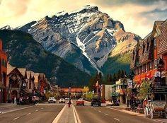 Canada - Banff Main Street!