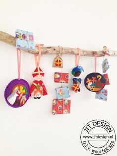 DIY wool felt kits Sinterklaas Jit Design.
