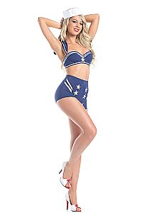 b733fbbe023 Looking for the perfect Adult Women s 3 Piece Sailor Captain Blue Top   Hot  Shorts Halloween Party Costume  Please click and view this most popular  Adult ...