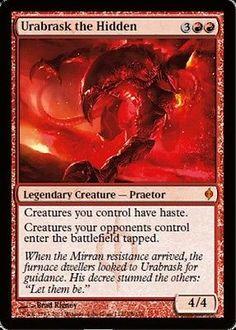 Urabrask the Hidden x4 Magic the Gathering 4x New Phyrexia mtg card lot
