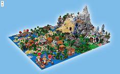 LEGO tease l'arrivée du plus gros set LEGO Minecraft jamais sorti - New Ideas Lego Minecraft, Minecraft Ender Dragon, Minecraft Crafts, Minecraft Skins, Minecraft Houses, Minecraft Bedroom, Minecraft Stuff, Lego Disney, Animals