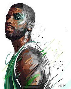 NBA - Kyrie Irving on Behance #NBA