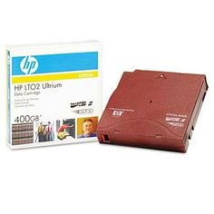 """HP 1/2"""" Ultrium LTO 2 Cartridge, 1998ft, 200GB Native/400GB Compressed Capacity-- by BND 808736395847 C7972A by HP. $79.34. Data Tapes. Storage Media. These high capacity, low cost per gigabyte cartridges are perfect for backups, restorations and archival needs. As they feature native AES-256 bit key encryption, data protection is ensured. Active internal head cleaning and self-diagnostic capacities also provide superior reliability. Regarding dependable record protection, HP ..."""