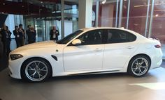 2017 Alfa Romeo Giulia: A Stunning Sports Sedan Headed for America - Photo Gallery of Official Photos and Info from Car and Driver - Car Images - Car and Driver