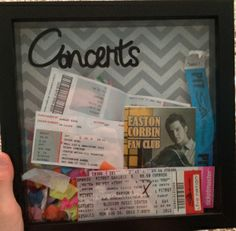 Cricut project ticket stub: could work with our movie tix