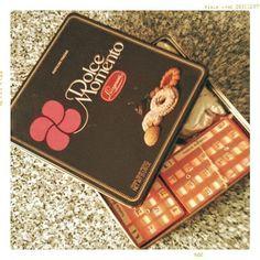 #tombola d'epoca in #scatola d'epoca #vintage #lazzeroni