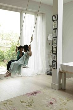 ? ive always wanted a swing in my house