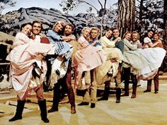 Because my mom also exposed me to old movie classics - hence why Seven Brides for Seven Brothers and Doris Day movies were some of my childhood faves.