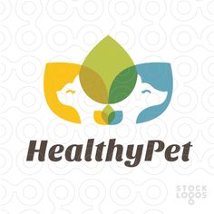 Great use of color and overlapping in this logo! The green is centered which is perfect for a health ad. The text is simple and effective, making a clean and simple ad which is extremely effective.
