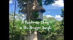 Staying in a Treehouse in the Amazon Jungle with Treehouse Lodge