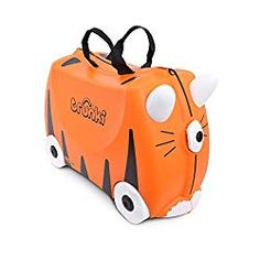 Shop the latest collection of Trunki Original Kids Ride-On Suitcase Carry-On Luggage ? Tipu Tiger (Orange) from the most popular stores - all in one place. Similar products are available.