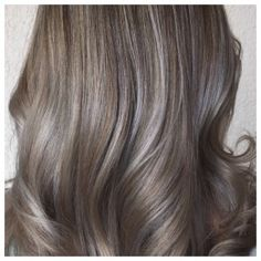 Photo: Hair Legacy A silvery overlay gives colors a cool, metallic gloss that's totally on trend. Adding silver dimension works for blondes, light brown shades, pastel hues, and even red tones. You...