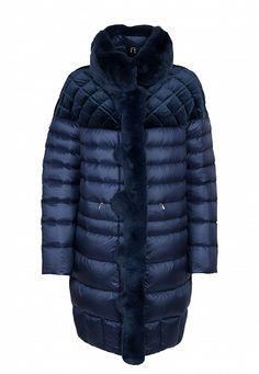 7c8afe8462acb9 синий комбинированный пуховик DIEGO M Down Coat
