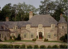 A French Normandy style house