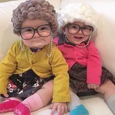 Disfraz abuelitas