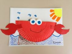 This page has a lot of free Paper plate crab craft and ocean unit crafts for kids,parents and preschool teachers.