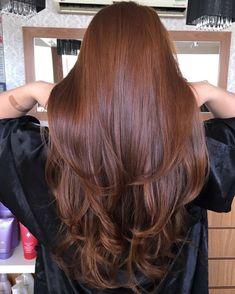 Um ruivo divo pra vocês ❤ super tratado com Bond Angel Hair Color Auburn, Brown Hair Colors, Brown Auburn Hair, Brown Blonde Hair, Brunette Hair, Long Brunette, Brunette Color, Cool Hair Color, Hair Colour