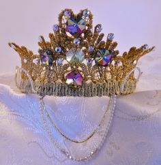 Lace Crown from tutusandtextiles
