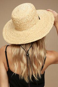 dca9013668f Wyeth Suzy Beige Straw Sun Hat 2 Floppy Hats