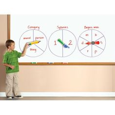 SpinZone® Magnetic Whiteboard Spinners, EI-1768