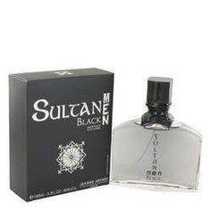Sultan Black Eau De Toilette Spray By Jeanne Arthes