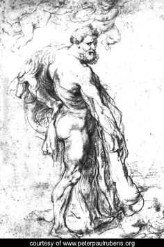 Hercules Crowned by Genii by Peter Paul Rubens 1625