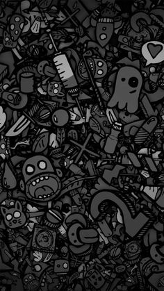 Free Cartoon Dark Wallpaper Android On High Definition Wallpaper Graffiti Wallpaper Iphone, Black Phone Wallpaper, Samsung Galaxy Wallpaper, Apple Wallpaper, Dark Wallpaper, Cellphone Wallpaper, Wallpaper Backgrounds, Wallpaper Doodle, Cartoon Wallpaper Hd