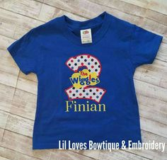 Hey, I found this really awesome Etsy listing at https://www.etsy.com/listing/505505368/the-wiggles-shirt-wiggles-birthday-shirt