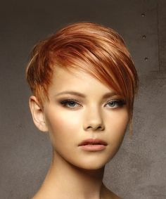 View and try on this Short Straight Casual Pixie Hairstyle – Medium Red Hair Color. – August 03 2019 at View and try on this Short Straight Casual Pixie Hairstyle – Medium Red Hair Color. – August 03 2019 at Medium Red Hair, Short Red Hair, Very Short Hair, Short Straight Hair, Short Hair Cuts For Women, Medium Hair Styles, Short Hair Styles, Pixie Hairstyles, Straight Hairstyles