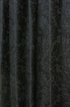 Alexandria Black Made to Measure Curtains, from £137 per pair or £22 per metre.
