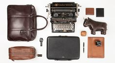 Portrait of a man who has a way with words, neatly organized for Coach Men's by Things Organized Neatly.