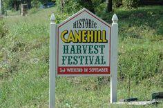 Cane Hill farm, north side of Cane Hill River, Cane Hill, Arkansas