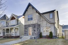 SOLD - Beautiful new Garrison Green listing in Calgary - includes a suite over the garage!