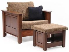 This Amish Arlington Lounge Chair makes a great Father's Day Gift!
